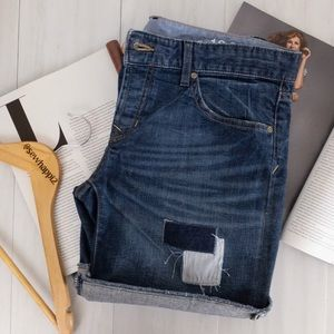 GAP 1969 • Denim Shorts with Patches